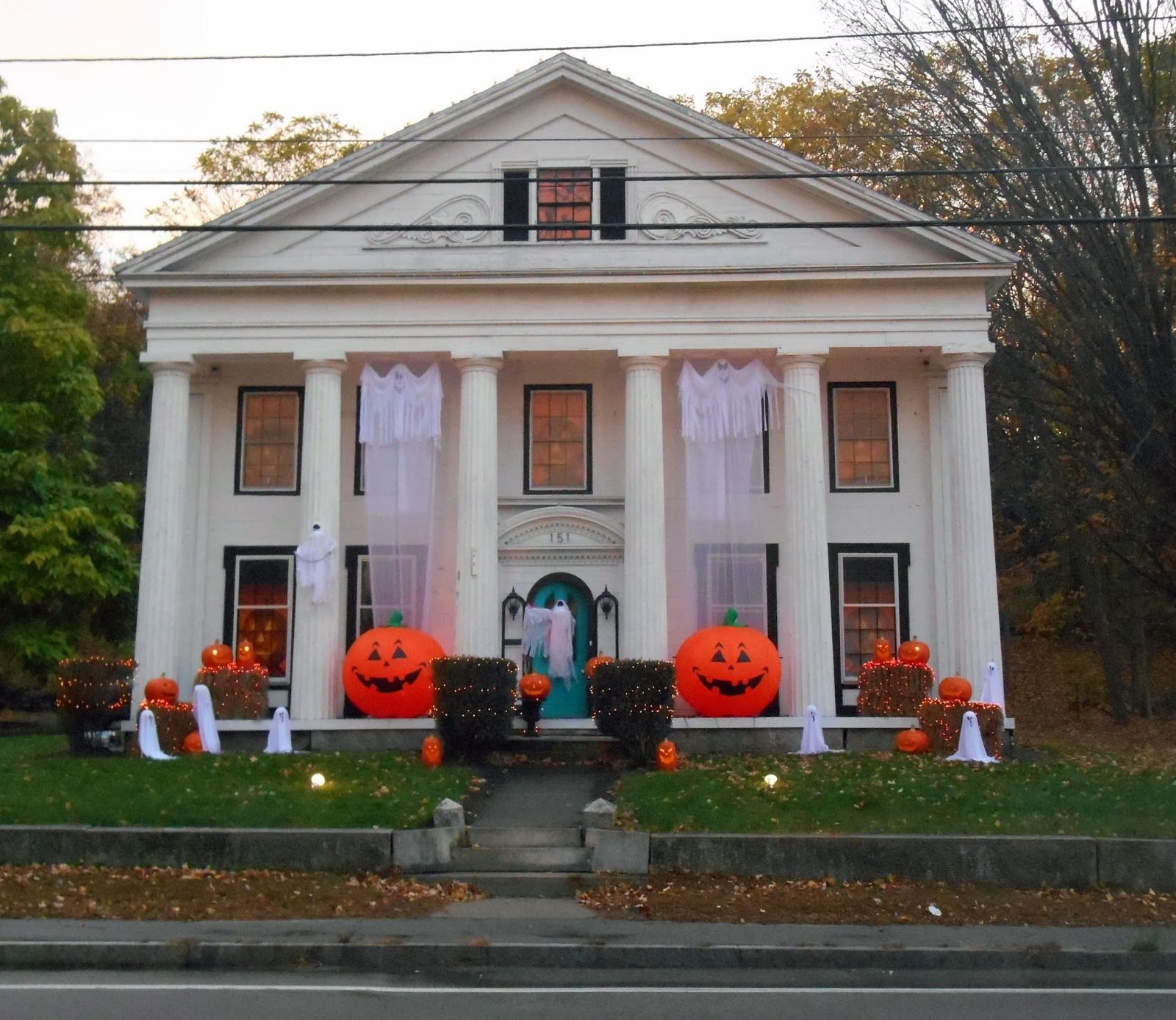 halloween decor grins gore in grafton