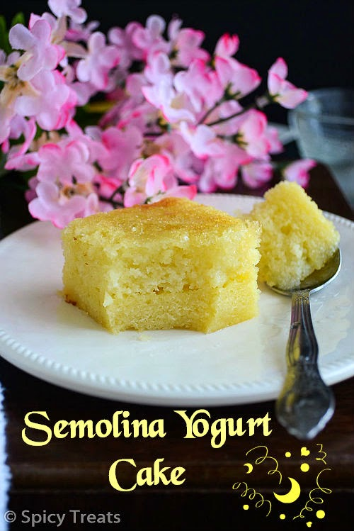Semolina Yogurt Cake – Guest Post For Divya Prakash