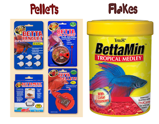 Pellets vs Flakes Food Betta Fish