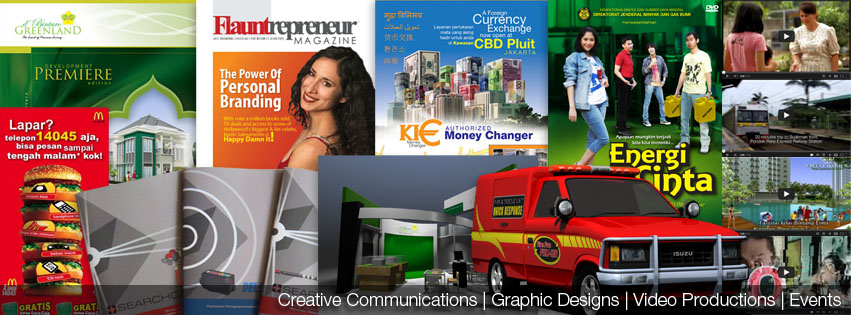 Creative Communications | Graphic Designs | Video Productions | Events