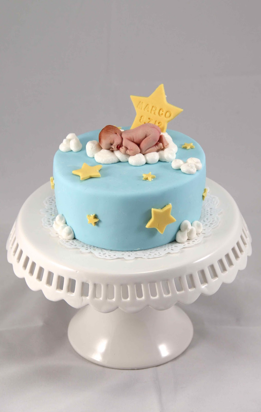 Bakerz Dad: Marco s One Month Old Cakes