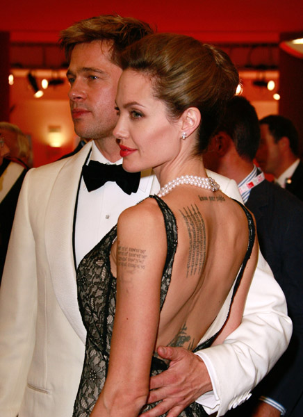 Angelina Jolie and Brad Pitt Photos