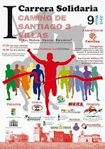I Carrera Solidaria Camino de Santiago 3 Villas en Rielves-Huecas-Barcience
