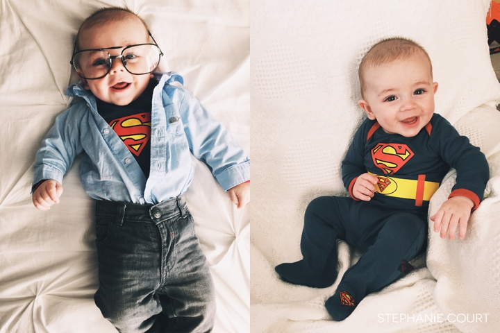 baby clark kent superbaby costume