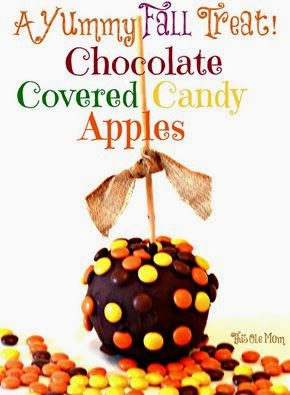 Nestle , Fall, Apples, Thanksgiving, Thanksgiving Treats, Chocoate , Candy Apples
