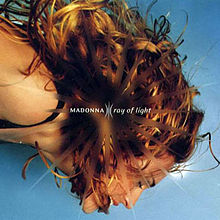 Ray Of Light CD single cover - Madonna