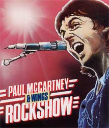 Rockshow - Paul McCartney e a banda Wings