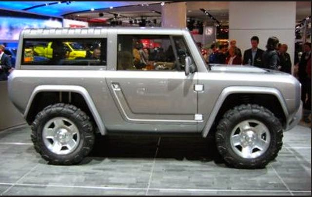 Photos Of The 2015 Ford Bronco