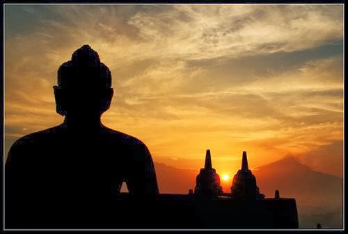 Budha's Siluet