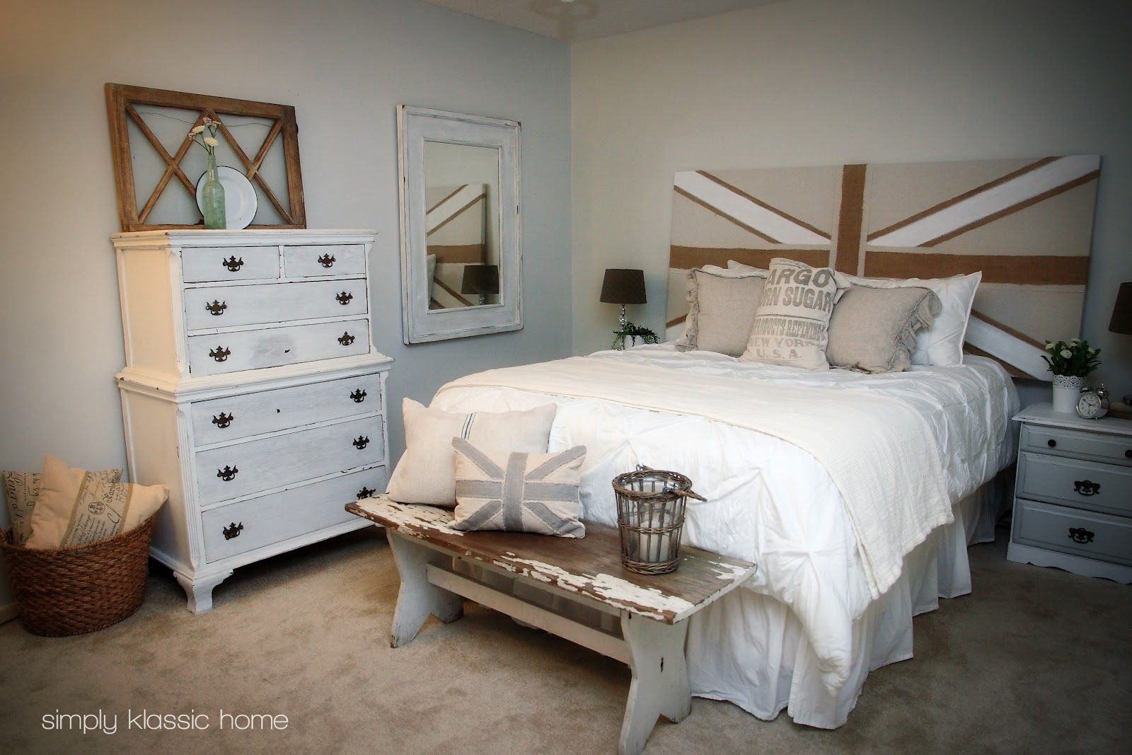 Simply Shabby Chic Bedroom Furniture Master Bedroom Details Yellow Bliss Road