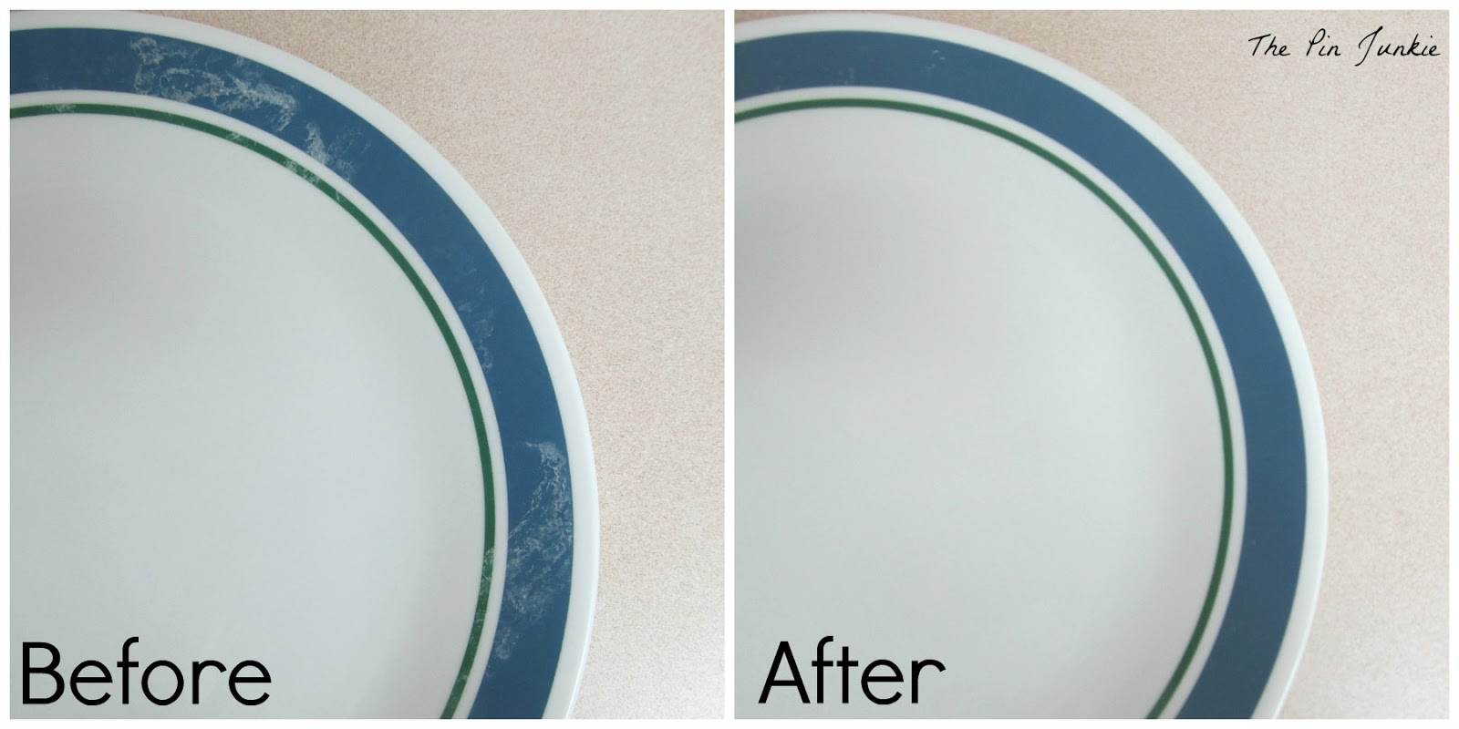 Plates Before And After