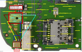 Nokia 3720c Mic Problem Solution diagram