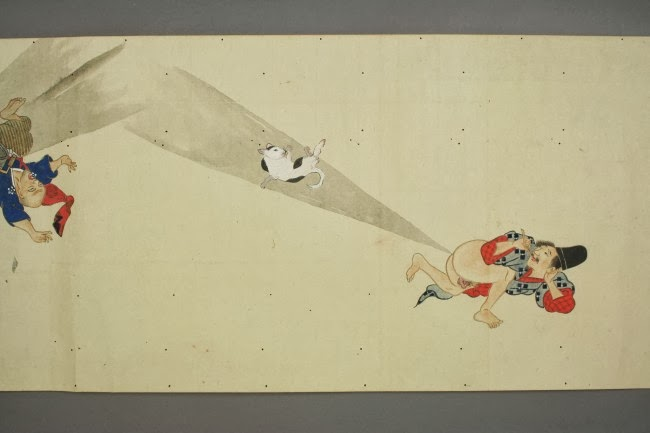 Bizarre But True: Japanese Scrolls From The 1600s Depict Farting Competitions