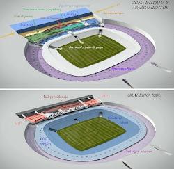 ** Capas nuevo estadio 1