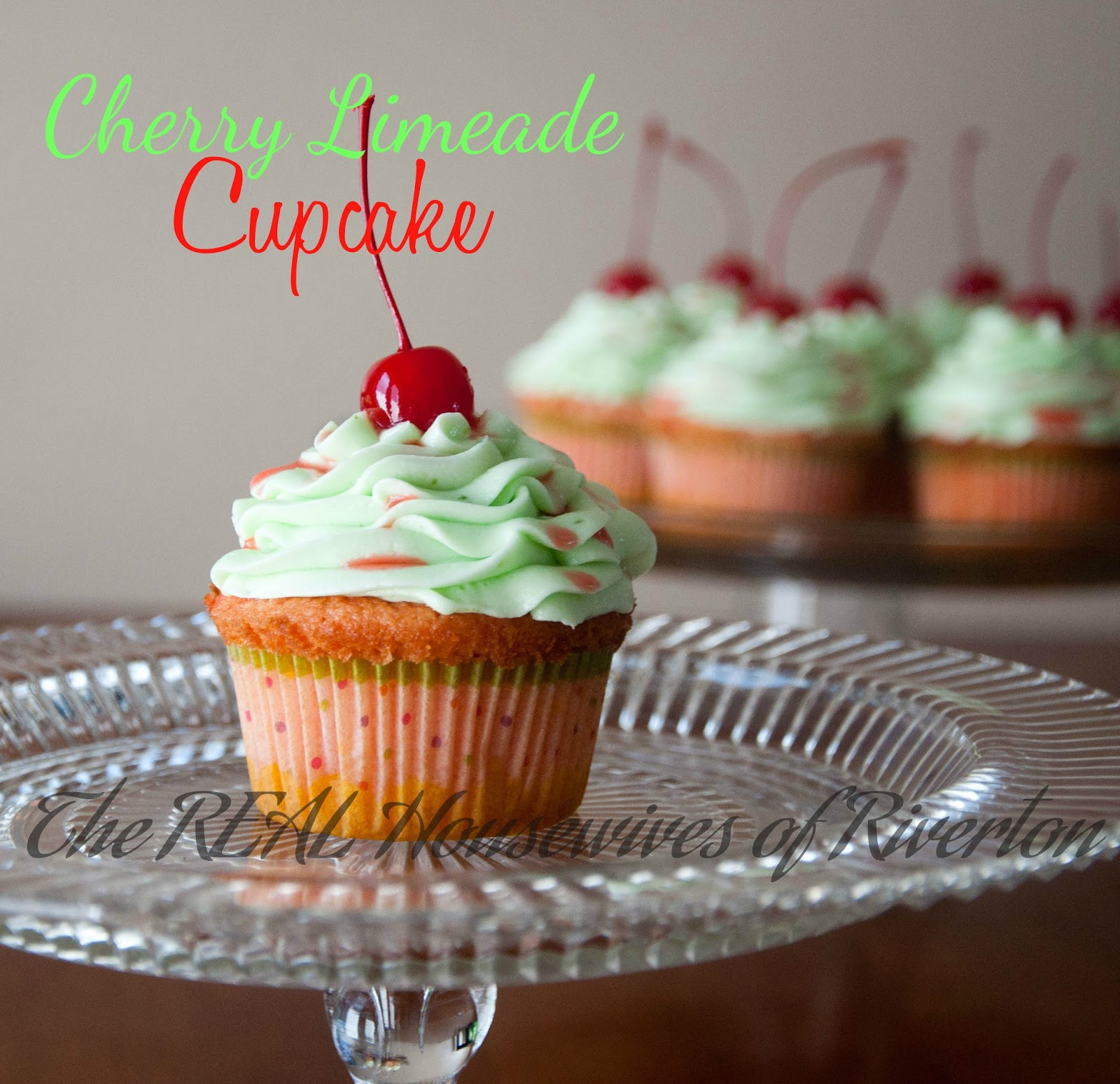 Cherry Limeade Cupcakes - Two Recipes! -