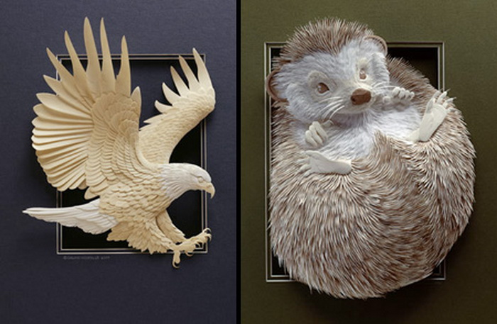 3D Sculptures Made From Paper [Pics] | ALL PHOTOZ