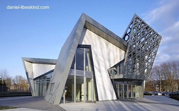 Residencia Moderna De Metal Y Madera Vanguardista   Villa Libeskind