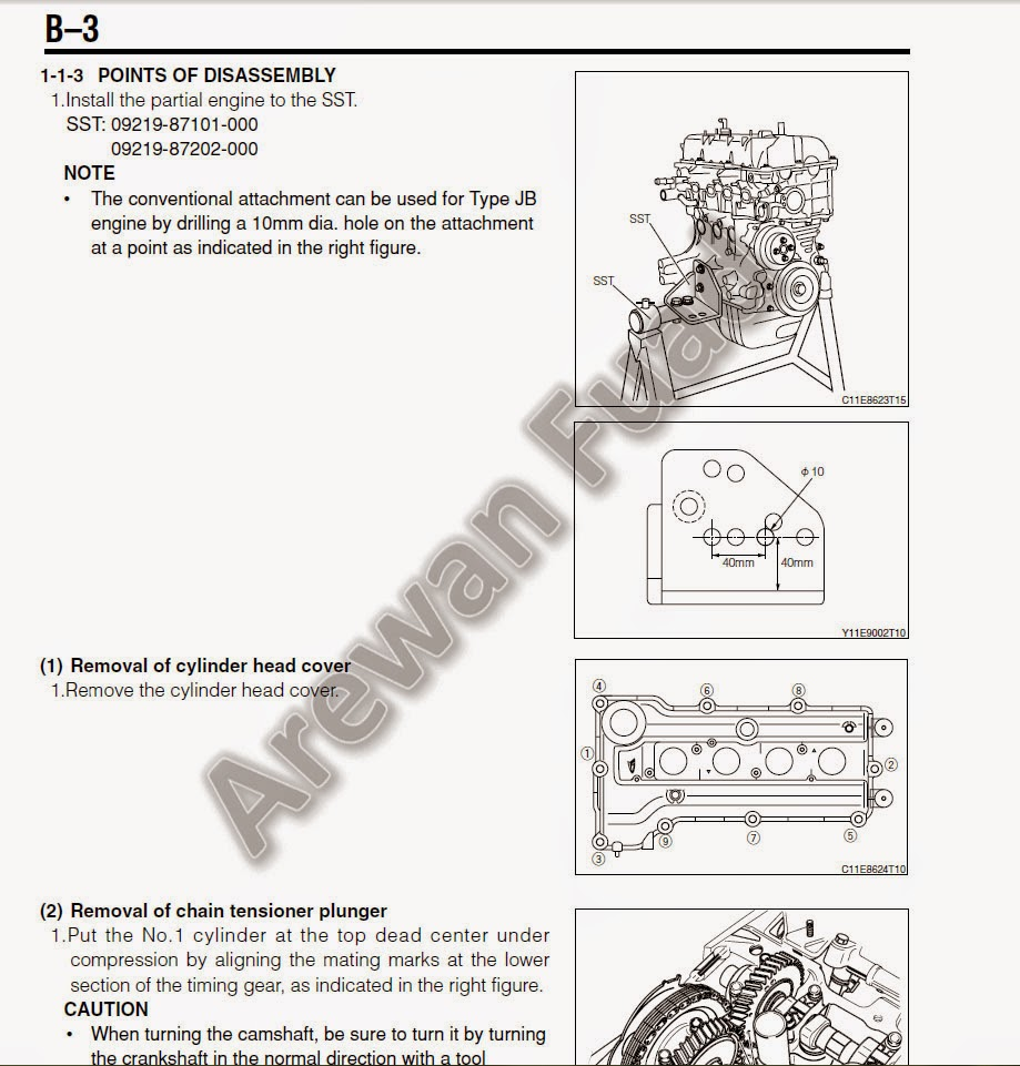 daihatsu jb det service or engine manual kei throttle acura wiring diagram sneak peak of the content