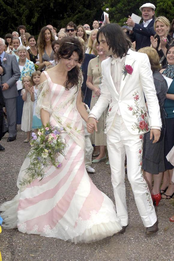 El vestido de novia de Katy England