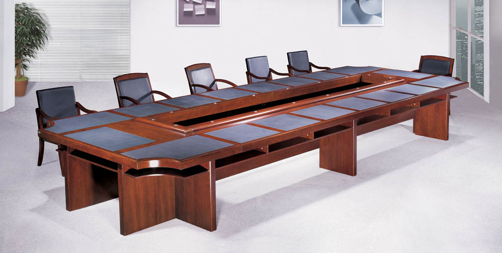 Charmingly Elegant Conference Table HOME IDEAS