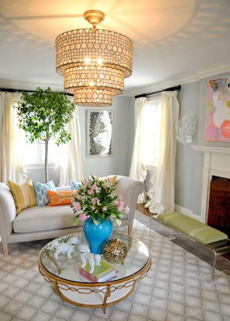 Cắm hoa trang trí phòng khách 14