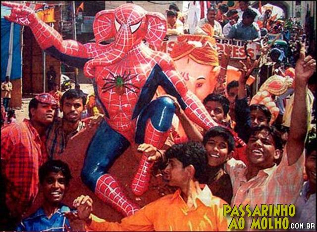 spider man, índia, ganesha