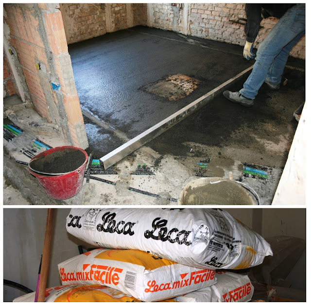 Massetto bioecocompatibile screed