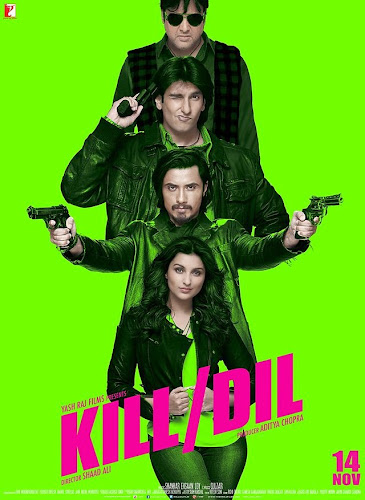 Kill Dil (2014) Movie Poster