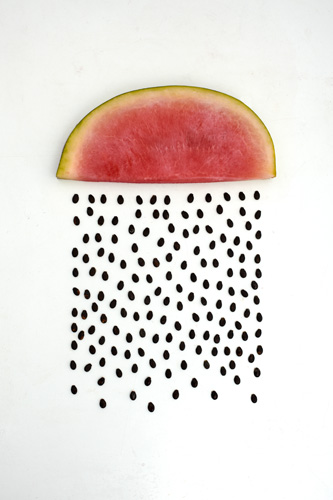 watermelon raining seeds