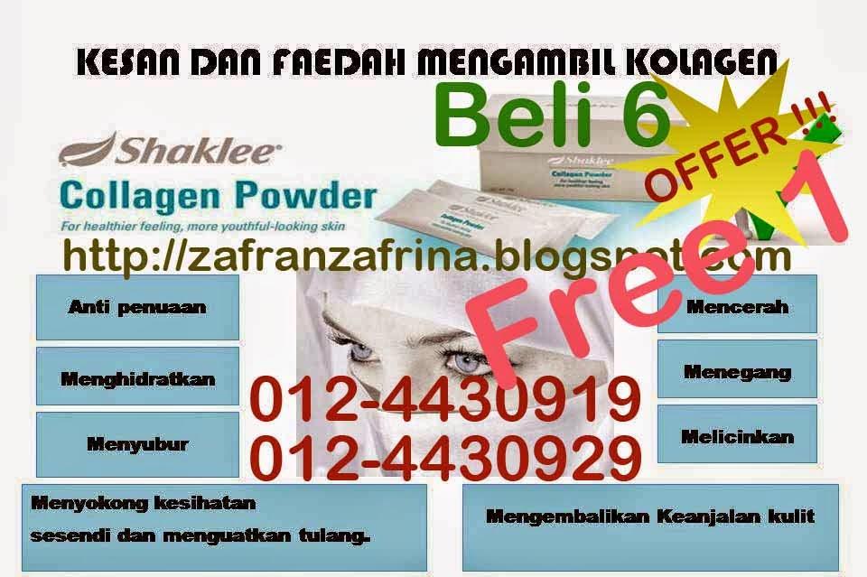 http://zafranzafrina.blogspot.com/2013/08/shaklee-collagen-powder-dapatkan.html