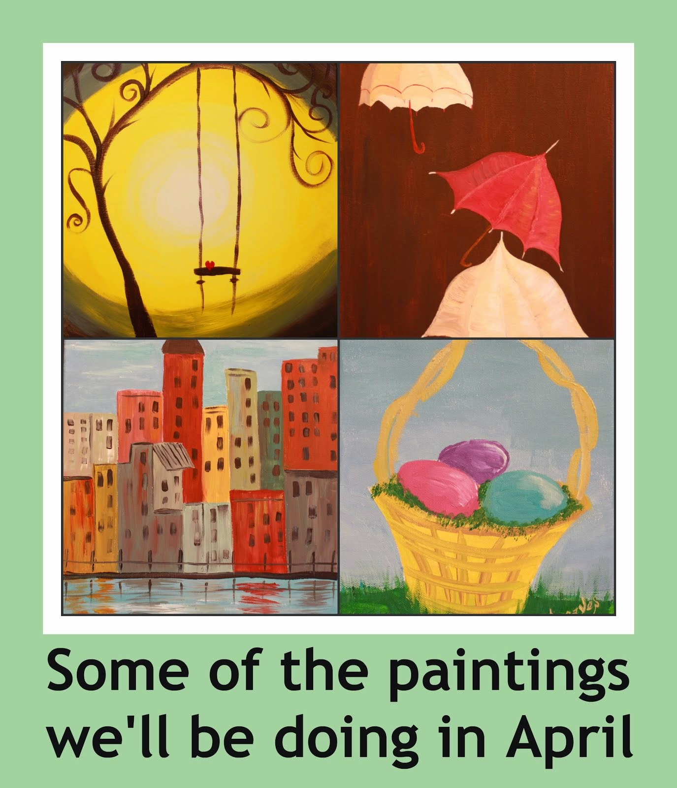 April Painting Classes
