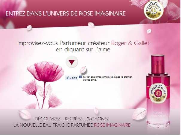 150 Eaux Parfumes Rose Imaginaire De Roger Gallet