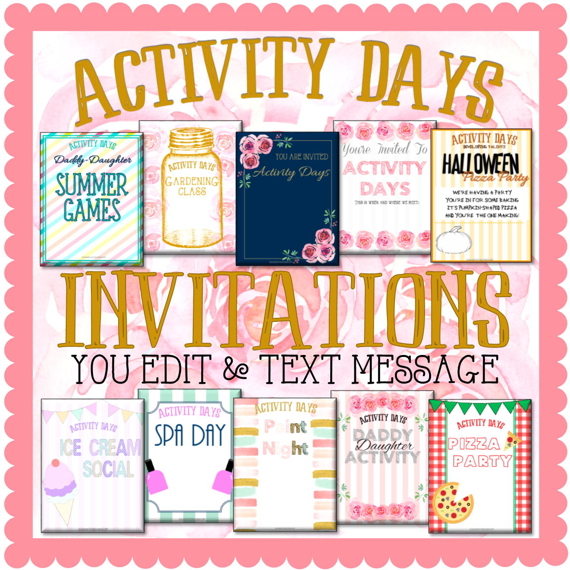 Text Invitations