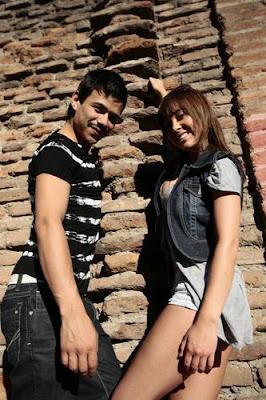 Valentina Roth junto a Chapu (fotografías) ~ Fotos de Chilenas