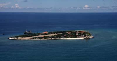 Quần đảo Trường Sa nhìn từ trên cao