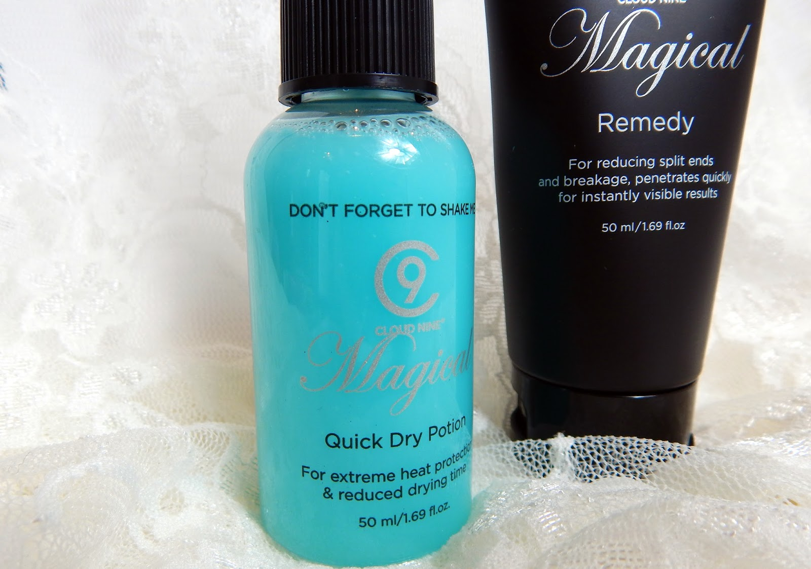 Cloud Nine Magical Duet, Reduce Hair Drying Time by 50%!