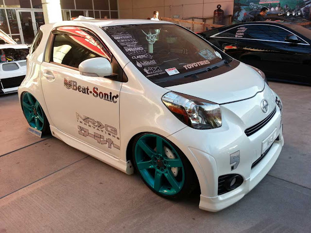 Scion iQ from the 2012 SEMA Show