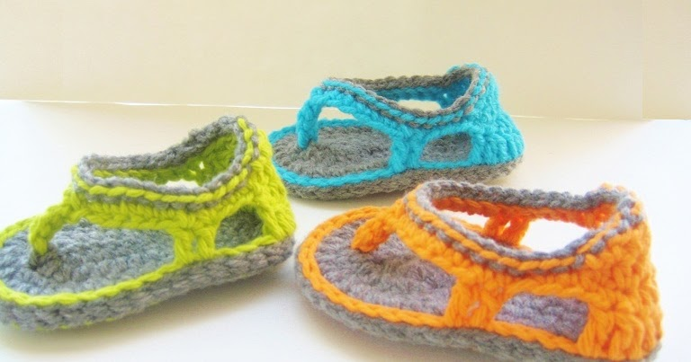 Crochet Pattern Baby Booties Orchid Sandals : For the Love of Crochet Along: Trekkers and Matching ...