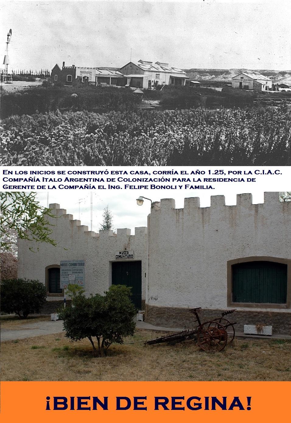 LOS COMIENZOS DE LA COLONIA REGINA.