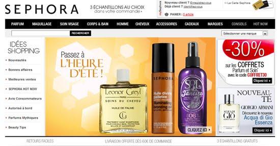 Code Promo Sephora 20% de réduction