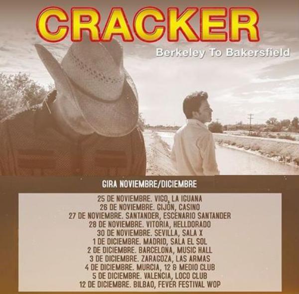 CRACKER - Gira española 2015