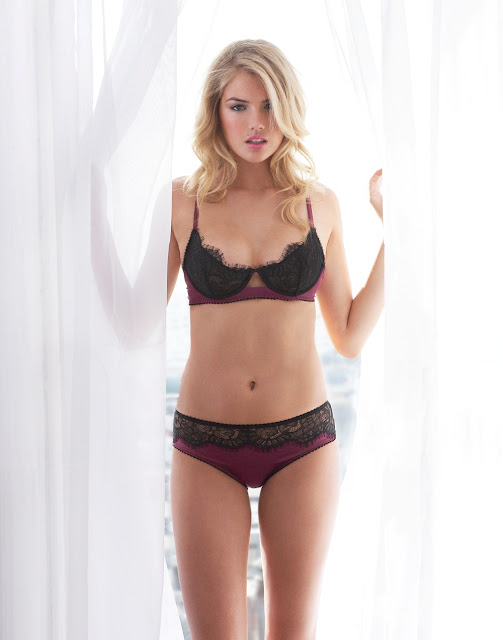 Kate Upton Hot Lingerie Shoot