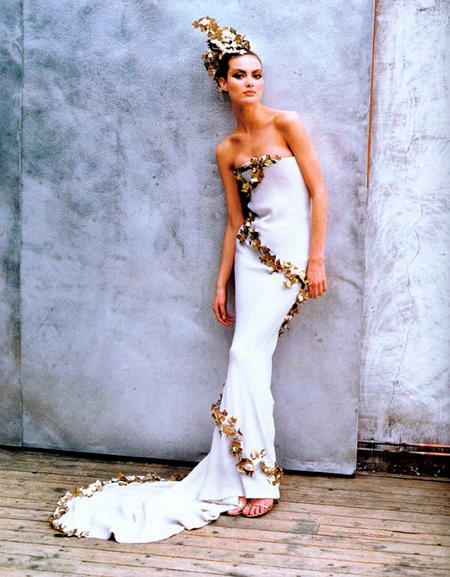 Alexander McQueen para Givenchy (HC 1997)