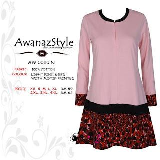 T-Shirt-Muslimah-Awanazstyle-AW0020N