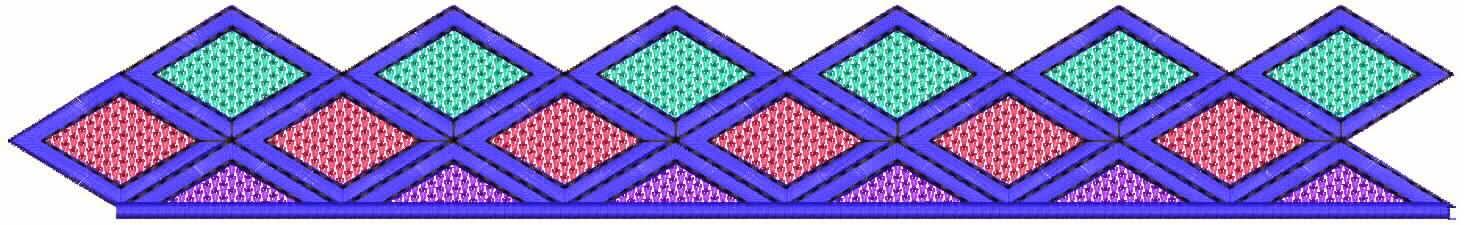 Geometriese ontwerp Kant grens