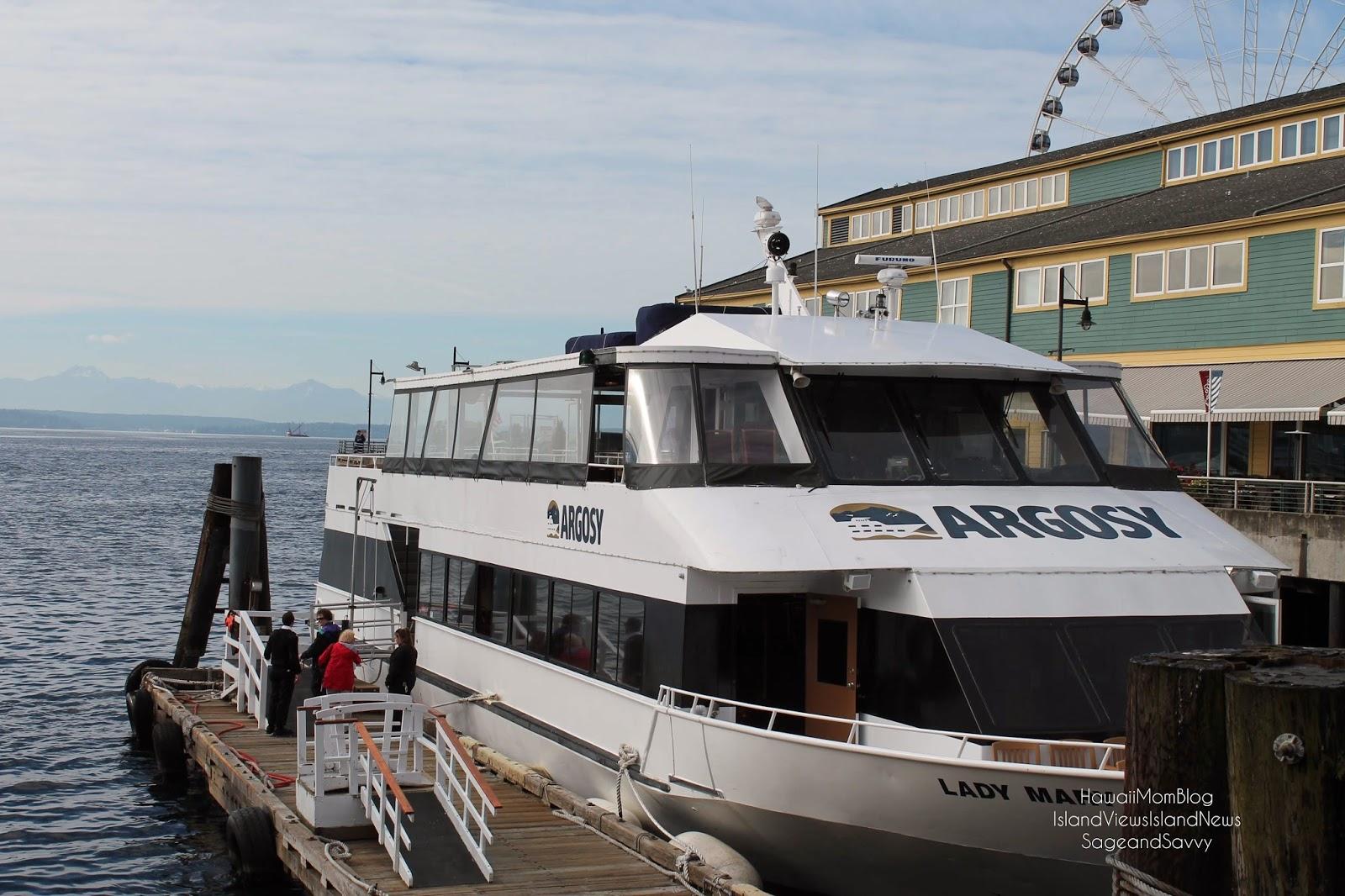 Hawaii Mom Blog Visit Seattle Argosy Cruises Harbor Cruise Tour