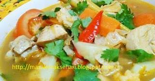 resep tom yam ayam sederhana