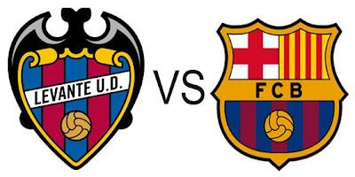 Prediksi Skor Levante vs Barcelona 26 November 2012