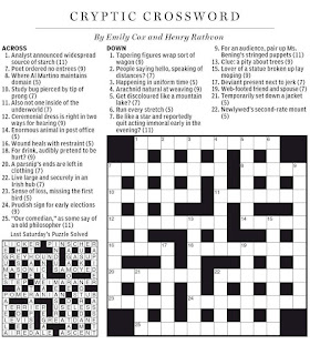 Crossword Clue Insect  Letters