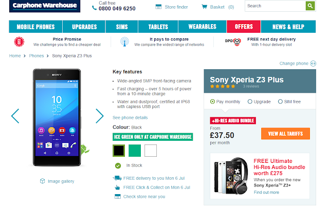 Sony-Xperia-Z3Plus-Available-In-UK-Carphone-warehouse-Asknext